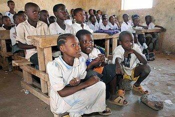 School children in Kakuma, Kenya