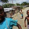 Niños afrocolombianos desplazados. Foto de archivo:  ACNUR/B.Heger