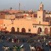 La place Djemaa el-Fna à Marrakech.