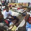 海地霍乱患者