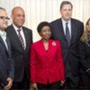 UN delegation meets with Michel Martelly prior to the presidential inauguration