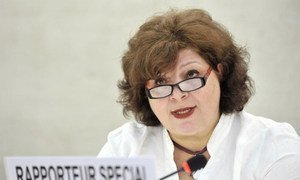 Gulnara Shahinian, Special Rapporteur on contemporary forms of slavery.