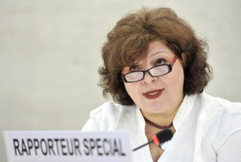 Gulnara Shahinian, Rapporteuse spéciale sur les formes contemporaines d'esclavage.