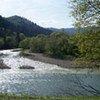 Une rivière dans les Carpates.