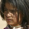 Portrait of an Iraqi child