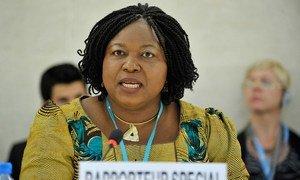 Special Rapporteur Joy Ngozi Ezeilo.