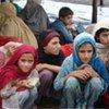 Displaced children in Jalozai Camp