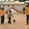 Niños libios en Benghazi (Foto de archivo)