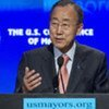 Secretary-General Ban Ki-moon addresses the 79th Annual United States Conference of Mayors in Baltimore, Maryland