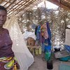 Displaced woman in Dungu, northern DRC, after attacks by the Lord's Resistance Army