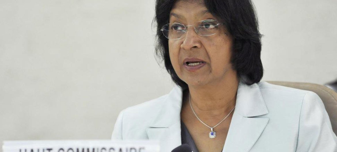 High Commissioner for Human Rights Navi Pillay