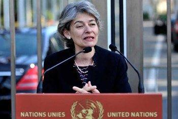 UNESCO Director-General Irina Bokova.