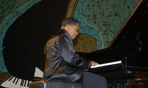 Jazz legend and music icon Herbie Hancock