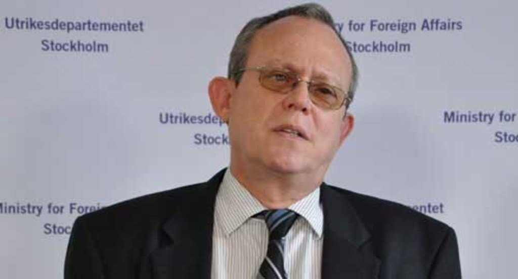 UN Special Rapporteur on the right to freedom of opinion and expression, Frank La Rue.