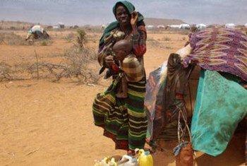 Les populations de la Corne de l'Afrique souffrent particulièrement de la faim en 2011.