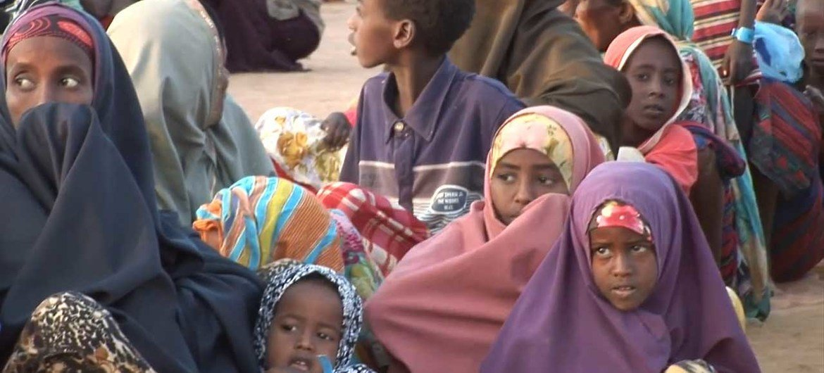 These Somali refugees in northeastern Kenya are among those affected by the crisis