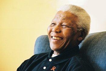 Nelson Mandela in February 2005.