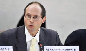 Special Rapporteur on the Right to Food Olivier De Schutter.