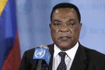 Special Representative Augustine Mahiga.