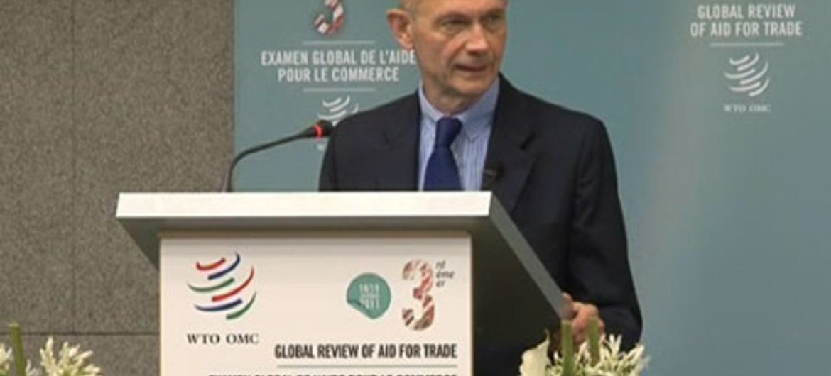 Pascal Lamy, Director-General of the WTO