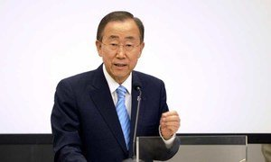Secretary-General Ban Ki-moon. UN/M. Garten