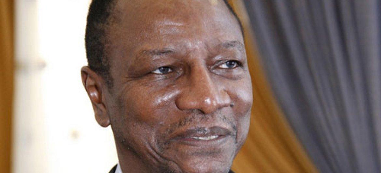Rais Alpha Conde wa Guinea