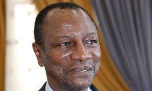 Le président de Guinée, Alpha Condé.