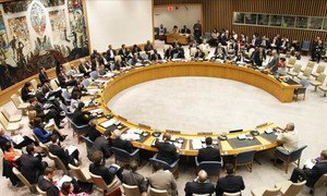Security Council meeting on the situation in Syria.