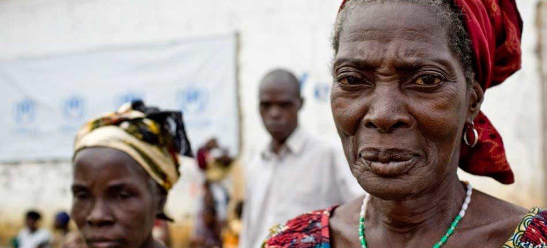 Une réfugiée ivoirienne au Libéria (mars 2011).