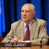 Le Représentant spécial du Secrétaire général des Nations Unies pour l'Afrique de l'Ouest et Président de la Commission Mixte, Saïd Djinnit.