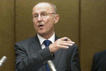 Le Conseiller spécial sur le sport pour le développement, Wilfried Lemke.