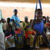 Malnutrition check-up at Moghem health centre in Niger's central region of Tahoua