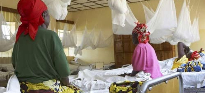 Rape victims receive treatment at the Panzi hospital in Bukavu, Democratic Republic of the Congo.