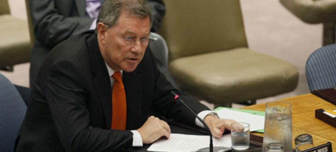 Special Coordinator for the Middle East Peace Process Robert Serry. UN/JC McIlwaine