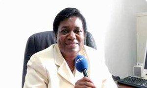 Margaret Sekaggya, Rapporteuse spéciale de l'ONU sur la situation des défenseurs des droits de l'homme. Photo ONU
