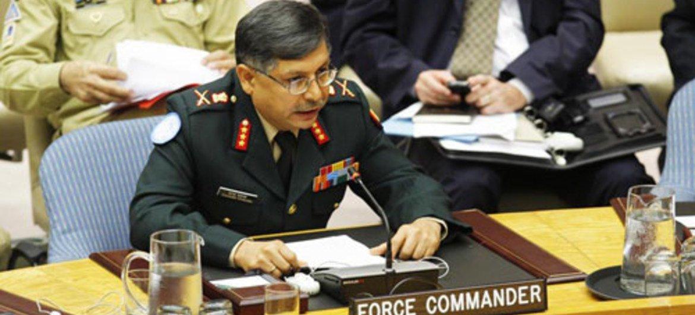 MONUSCO force commander Lieutenant-General Chander Prakash.