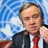 Antonio Guterres, Haut commissaire des Nations Unies pour les réfugiés.