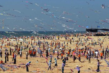 Over 13,000 Gaza children participated in the kite flying championship