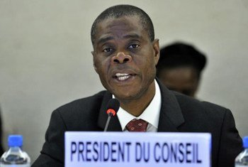 ECOSOC President Lazarous Kapambwe