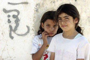 Jeunes Palestiniennes en Cisjordanie (archives).