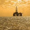 An oil platform in the Caspian Sea. Petroleum plants that process oil products can prove an increased cancer risk to those working there, or living nearby, a new IARC study shows.