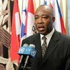 Special Representative of the Secretary-General for Central Africa Abou Moussa (file photo)