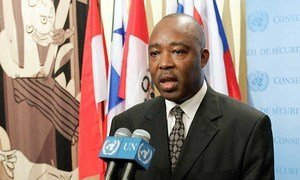 Le Représentant spécial du Secrétaire général pour l'Afrique centrale, Abou Moussa.