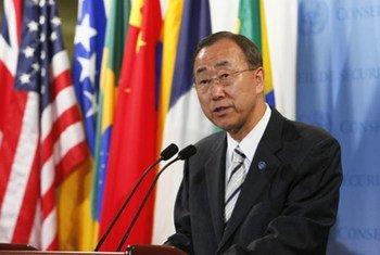 Le Secrétaire général Ban Ki-moon