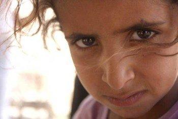 Refugiada palestina en Siria