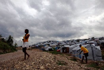 Storm clouds gather over Haiti