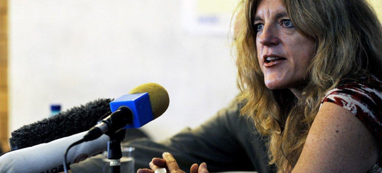 Hilde Johnson, Représentante spéciale du Secrétaire général pour le Soudan du Sud.