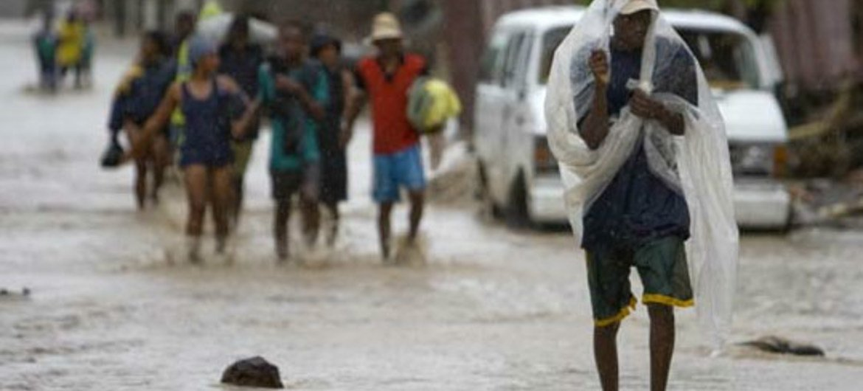 Hurricane Irene caused flooding and lanslides in Haiti
