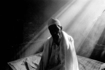 In Search of Identity: an ailing 75-year-old Bihari sits alone in his room in a camp in Bangladesh
