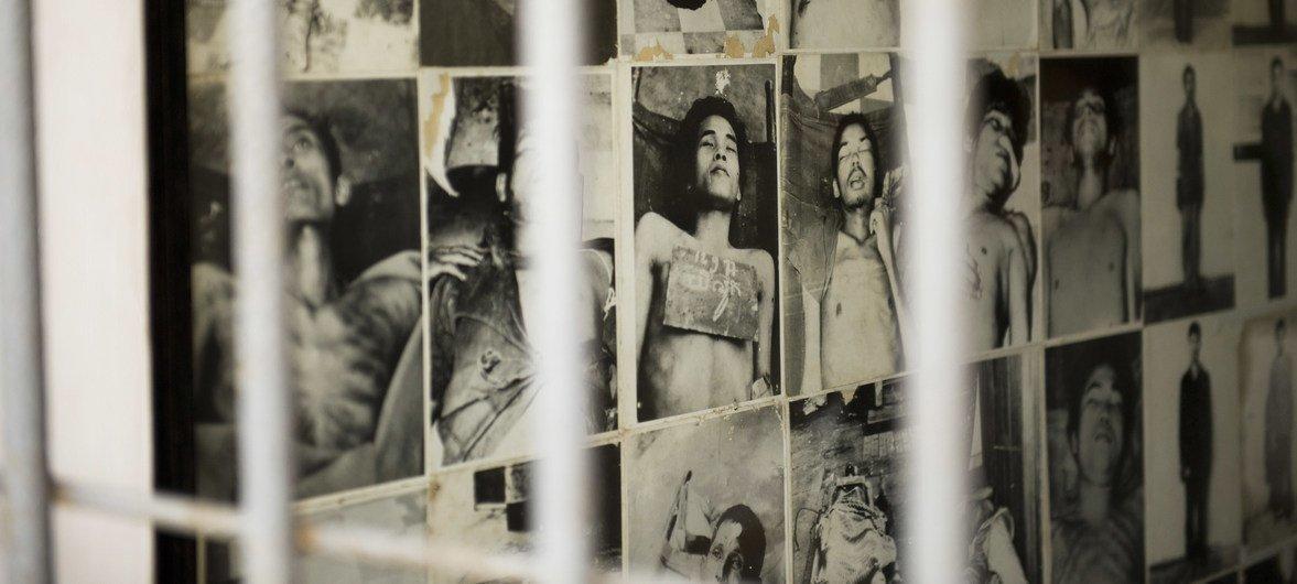 Музей геноцида в Пномпене на месте тюрьмы, где «красные кхмеры» держали в заточении тысячи людей.